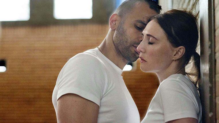Marwan Kenzari en Carice van Houten in 'Instinct' van Halina Reijn Beeld