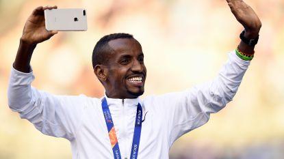 Bashir Abdi trekt naar trainer Mo Farah