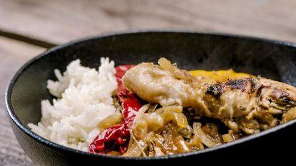Smakelijk! Loïc maakt yassa kip met rijst