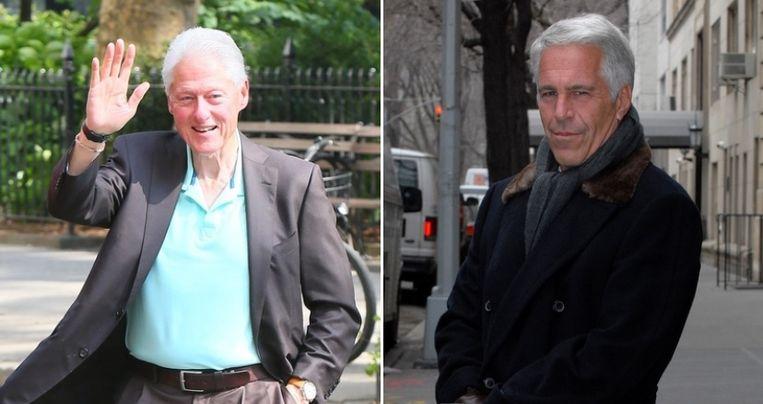 Bill Clinton en Jeffrey Epstein