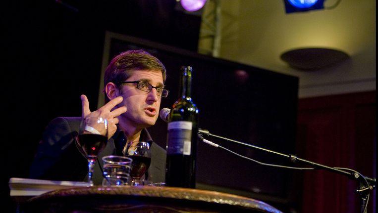 BBC-presentator Louis Theroux. Beeld anp