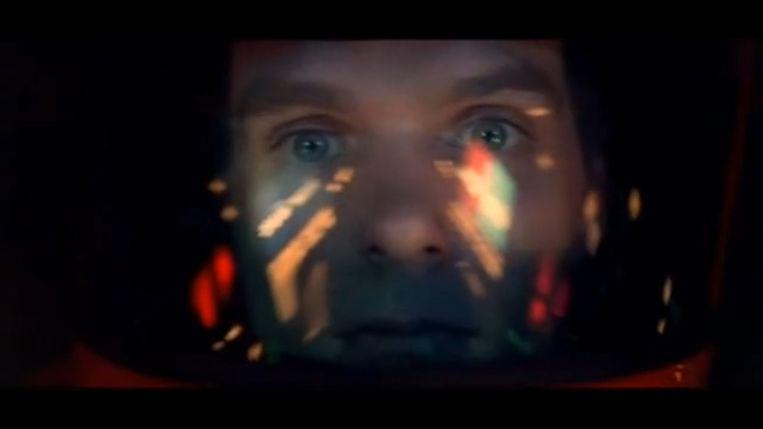 Chronologische reeks beelden uit de laatste scene van 2001: A Space Odyssey. Beeld RV