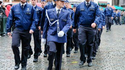 Politiezone Brussel Hoofdstad Elsene zet Grote Markt op z'n kop met korpsfeest