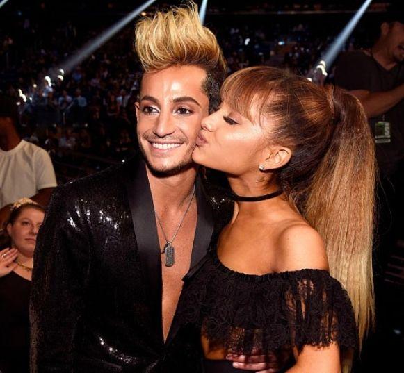 Ariana en haar broer Frankie Grande.