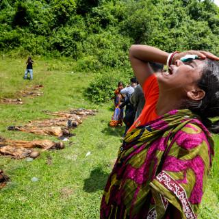 Gemaskerde Rohingya-strijders doken op voor moordpartij op hindoedorp Myanmar