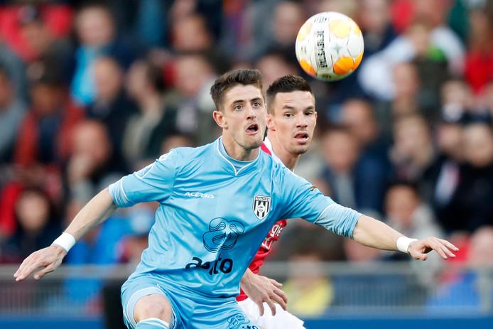 Adrian Dalmau scoorde dit seizoen negentien goals voor Heracles en eindigde als derde op de topscorerslijst in de eredivisie.