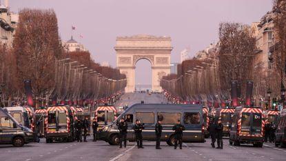 Vijfde zaterdagse demonstratie van 'gele hesjes' op rij in Frankrijk, vrees voor nieuwe rellen