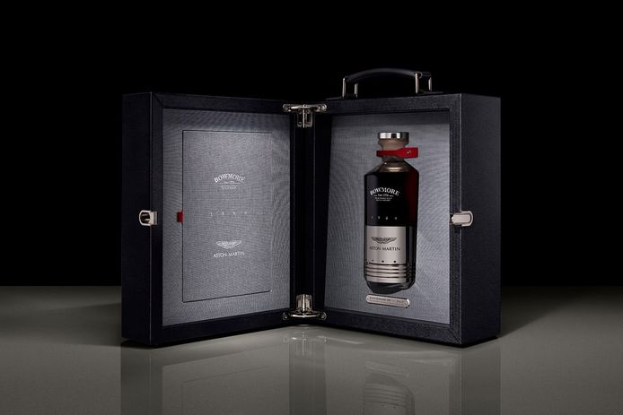 Bowmore Aston Martin whisky.