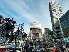 Fietsenstalling onder station Den Haag CS gaat eind maart open