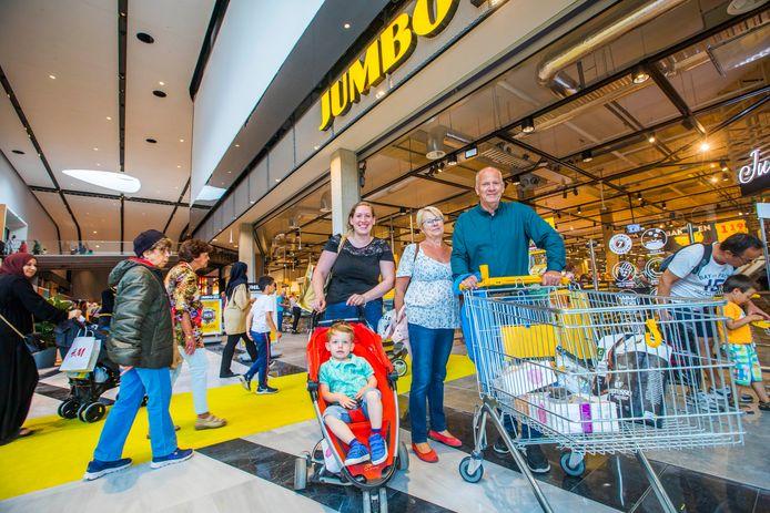 Opening van een nieuw deel Mall of the Netherlands.