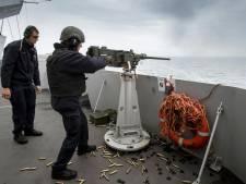 In de wateren rond de Krim staan de NAVO en de Russen tegenover elkaar