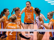 Volleybalsters met vertrouwen richting finale Nations League