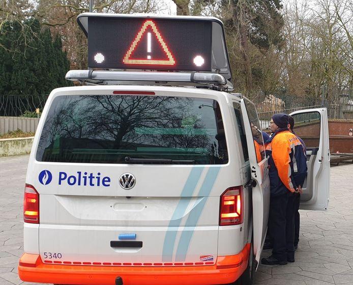 Nieuw systeem met optische signalisatie voor pz Brussel-West.