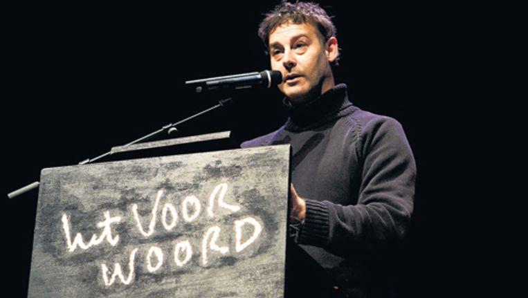 Peter Verhelst, auteur van Het geheim van de nachtegaal. Foto ANP Beeld