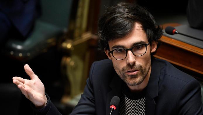 Le chef de groupe Ecolo-Groen à la Chambre, Kristof Calvo.