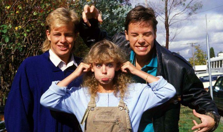 Kylie Minogue als Charlene Robinson in Neighbours (1987) Beeld