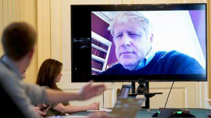 Britse premier Boris Johnson in het ziekenhuis