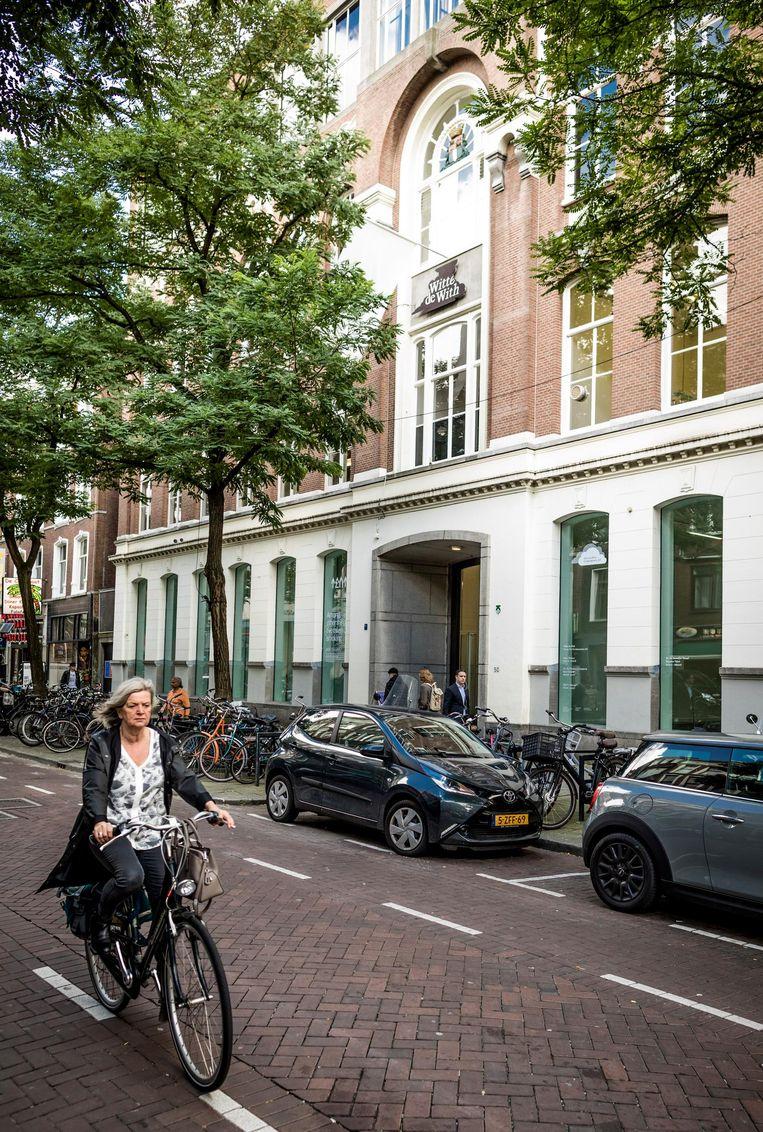 Het Witte de With Center for Contemporary Art in Rotterdam. Beeld Freek van den Bergh / de Volkskrant