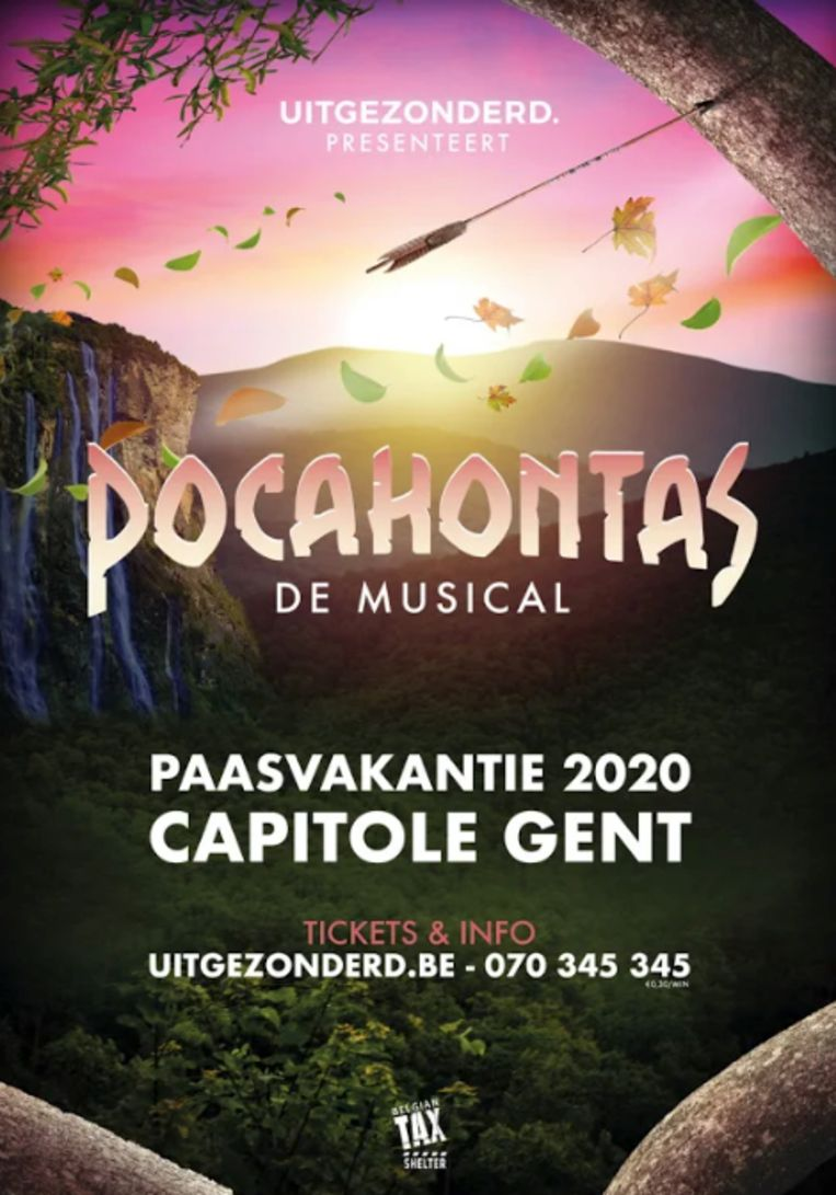 'Pocahontas', de musical