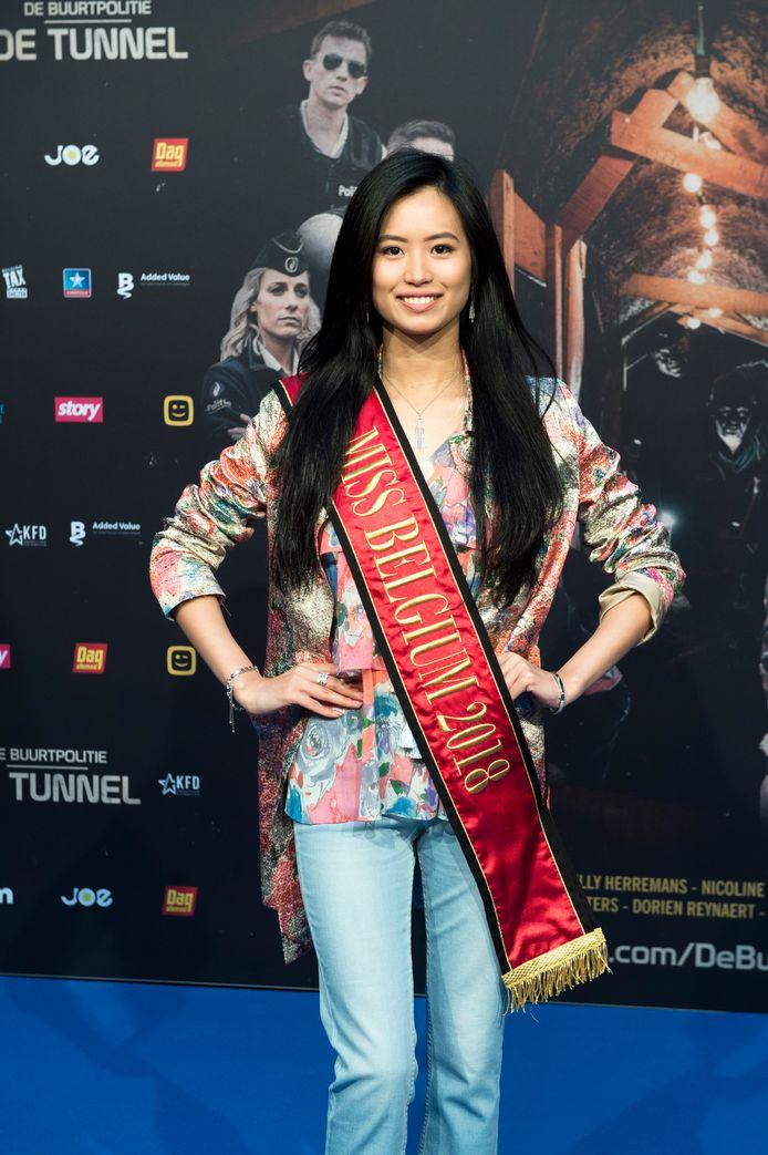 Ook Miss België Angeline Flor Pua tekende present.