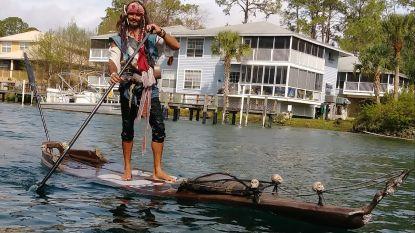 Vermiste paddleboarder 'Jack Sparrow' uit Florida na twee dagen dood uit het water gehaald