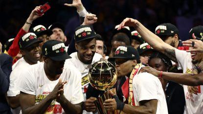 Toronto eerste Canadese NBA-kampioen
