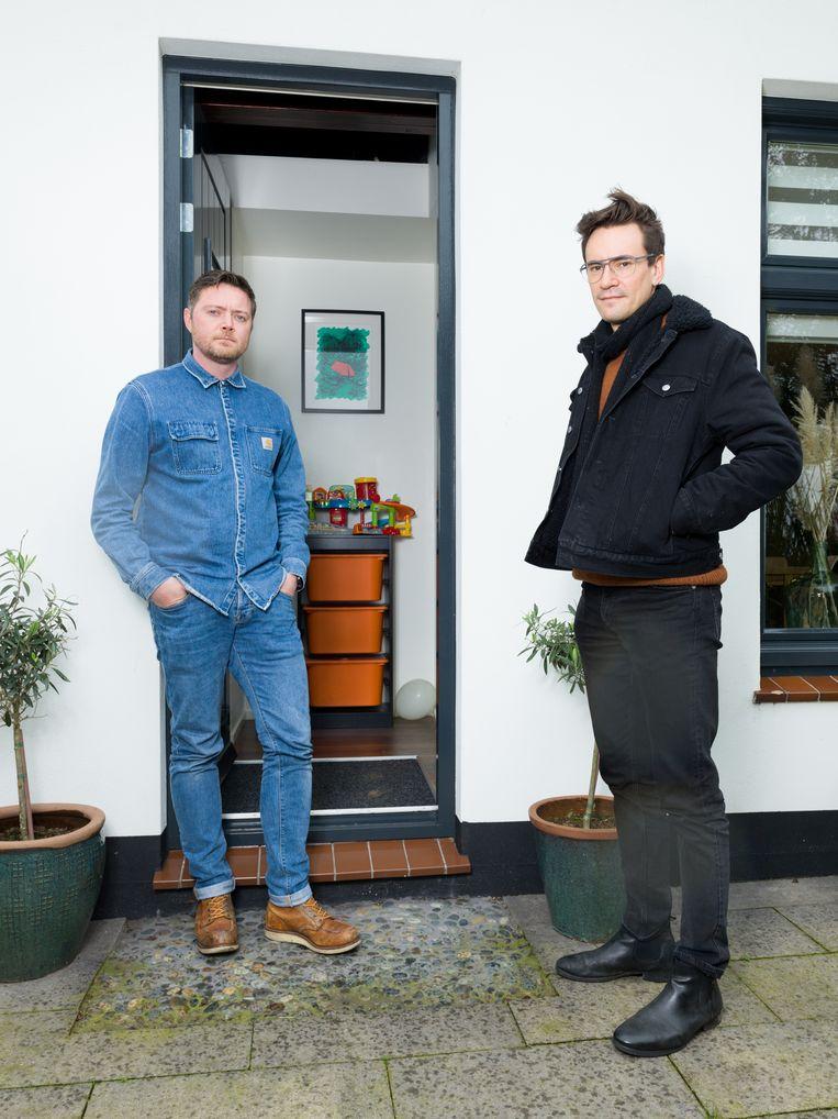 Albert Visser (links) en Matthias Declercq. Beeld Ivo van der Bent