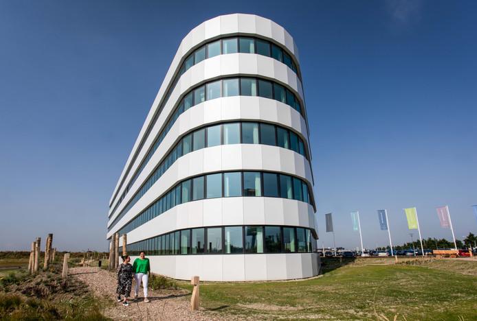 Het nieuwe hoofdkantoor van Roompot Vakanties in Goes