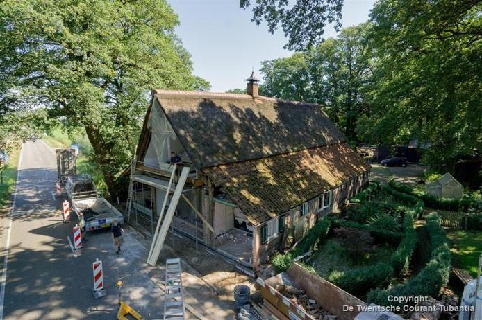 De bedrijven Groothuis en Jaspers Fayer verbouwen het rijksmonument De Aaboer.