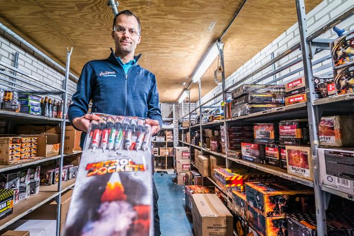 """Dennie van Herwijnen: ,,Een verbod werkt averechts. Mensen zullen meer illegaal vuurwerk kopen."""""""