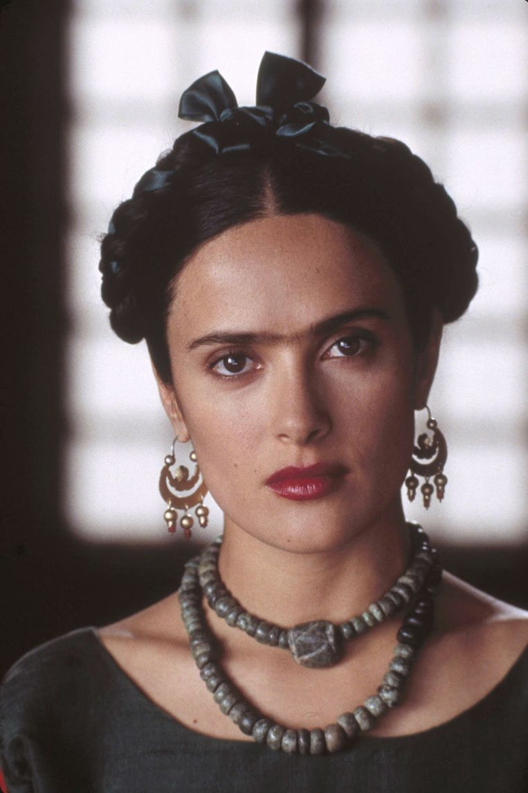 Salma Hayek als Frida Kahlo in 'Frida'.