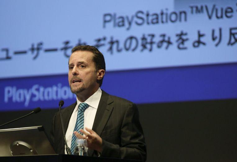 Sony-topman Andrew House. Beeld null