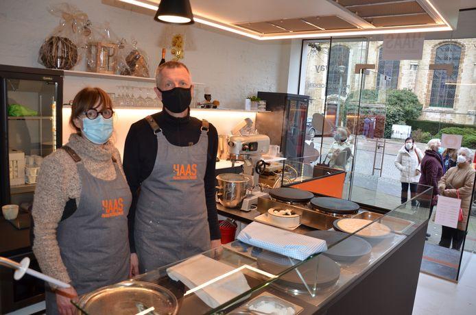 Rita en Yves bieden voorlopig enkel takeaway aan door de coronamaatregelen.