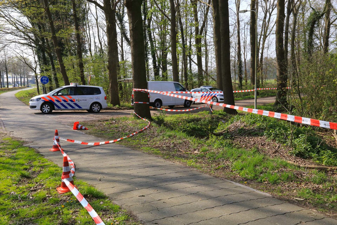 De Kasteellaan in Heusden waar een meisje (18) werd verkracht.
