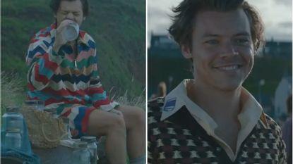 Harry Styles maakt 'raar' zijn handelsmerk: vriendschap met vis staat centraal in nieuwe videoclip