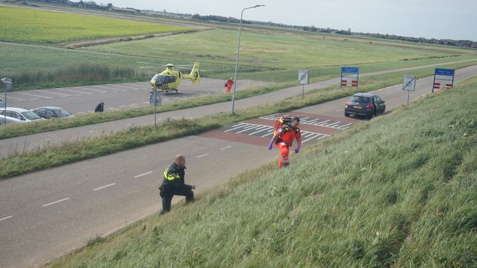 De hulpdiensten werden groots ingezet, waaronder het traumateam.