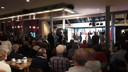 De acht lijsttrekkers van Goirle en Riel stonden woensdagavond op een podium in het Jan van Besouw.