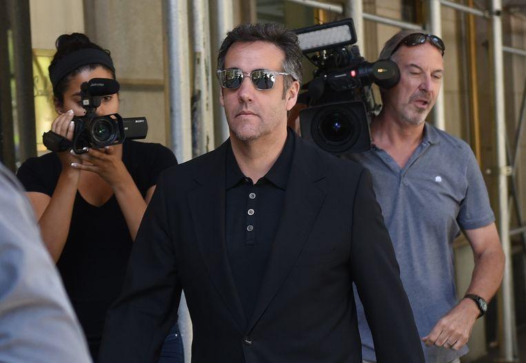 Michael Cohen, de voormalige advocaat van de Amerikaanse president Donald Trump. Beeld AFP