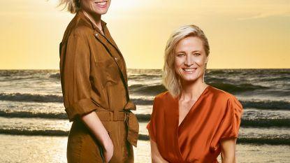Twee meisjes op het strand: kijk mee achter de schermen van onze fotoshoot met Goedele Wachters en Cathérine Moerkerke