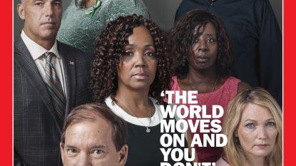 """Krachtige, ontroerende cover van Time Magazine met zeven voor altijd gekwelde ouders: """"De wereld draait verder en jij niet"""""""