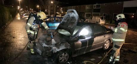 Auto uitgebrand aan Warmelolaan in Arnhem