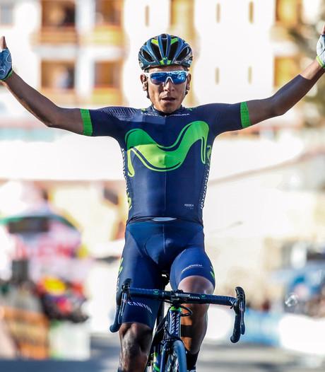 Quintana tankt vertrouwen voor Giro met winst in sneeuw Asturië