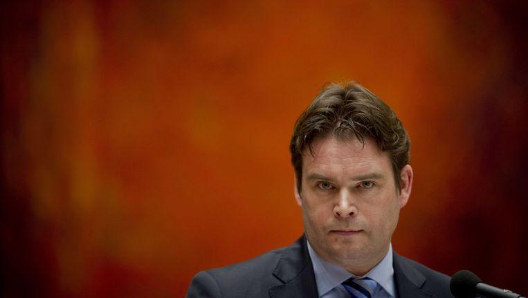 Staatssecretaris van financiën Frans Weekers Beeld ANP