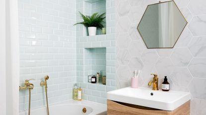 Zo benut je alle ruimte in een kleine badkamer