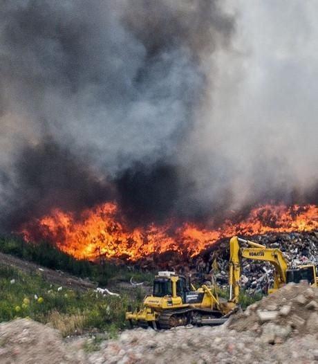 VIDEO: Brand bij Attero is onder controle
