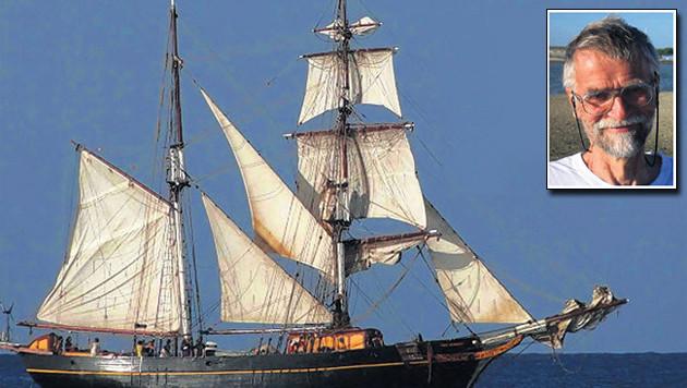 Inzet: Hollandse kapitein Van der Veen.