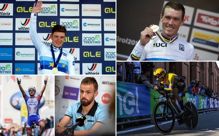 Wint één van deze vijf renners het WK tijdrijden?