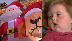 Kerstmis in mei voor terminaal ziek meisje