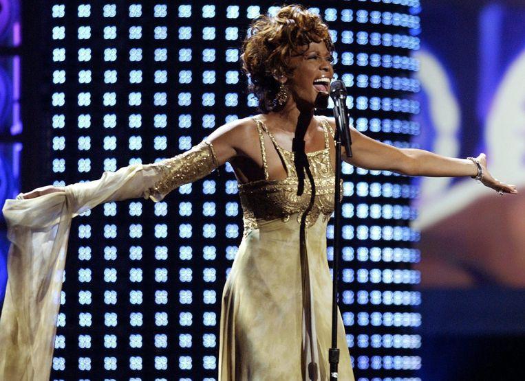 Fans van Whitney Houston krijgen volgend jaar de kans om een concert van de overleden zangeres te ervaren. Beeld EPA