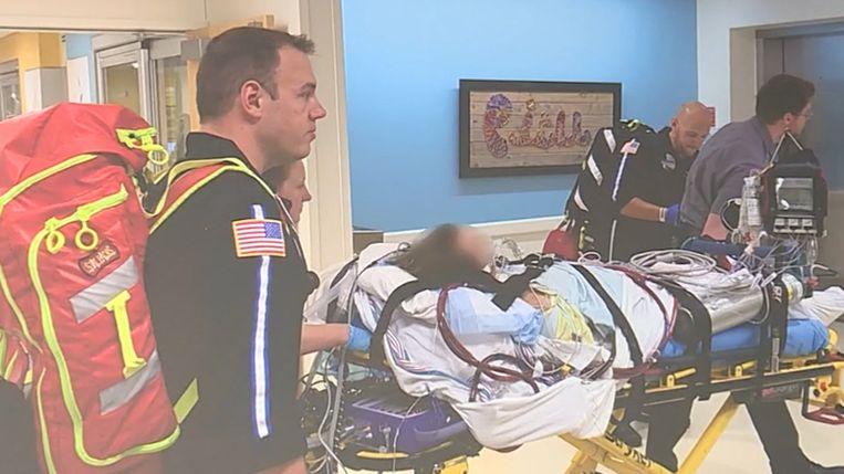 De 17-jarige werd in oktober geopereerd in het Henry Ford-ziekenhuis in Michigan (VS)